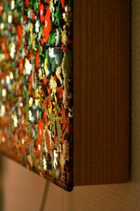 Tableau lumineux papier japonais azethequeA