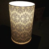 lampes en papiers japonais Agnès Clairand