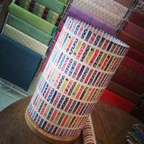 Lampe papier japonais motif geometrique agnes clairand
