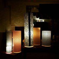 lampe papier japonais