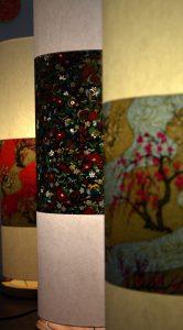 Lampes en papier japonais Agnès Clairand