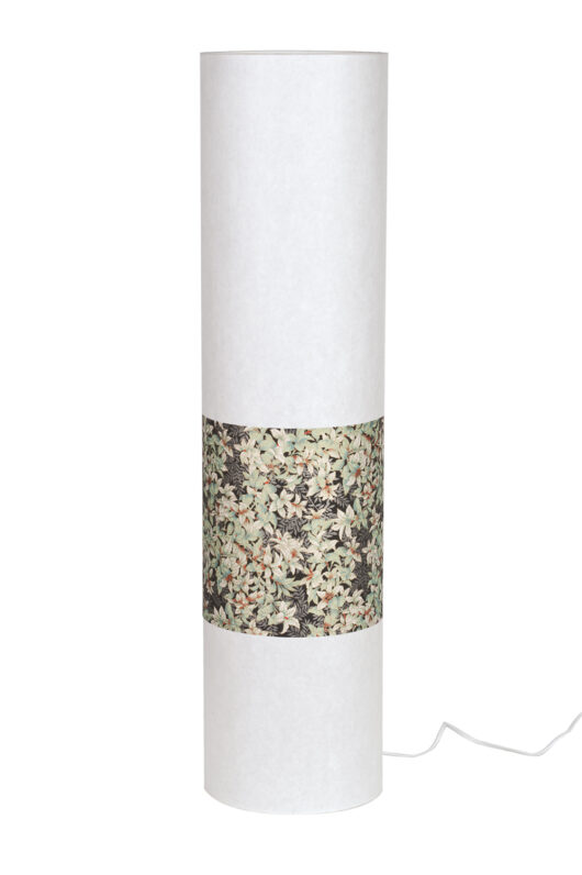 Lampadaire en papier japonais haut de gamme