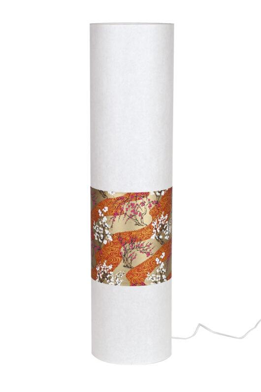 Lampadaire en papiers japonais haut de gamme