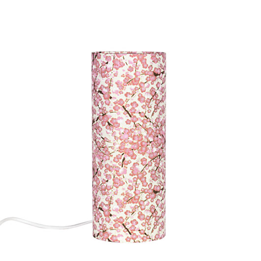 Lampe de chevet Liberty rose eteind