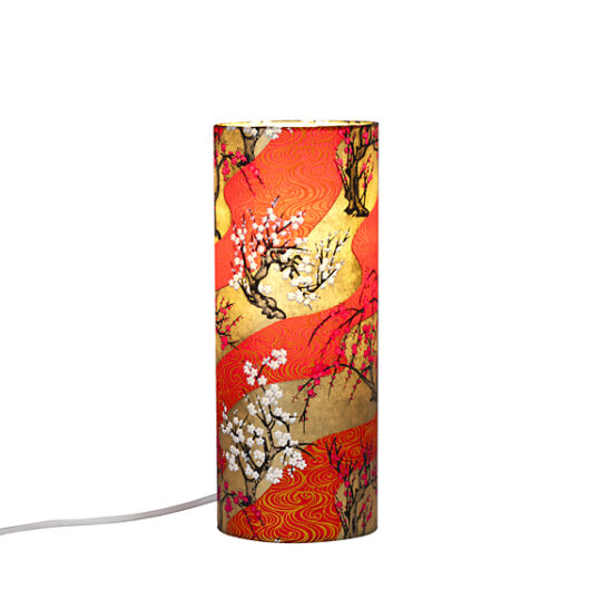 Lampe de chevet Zen vague rou