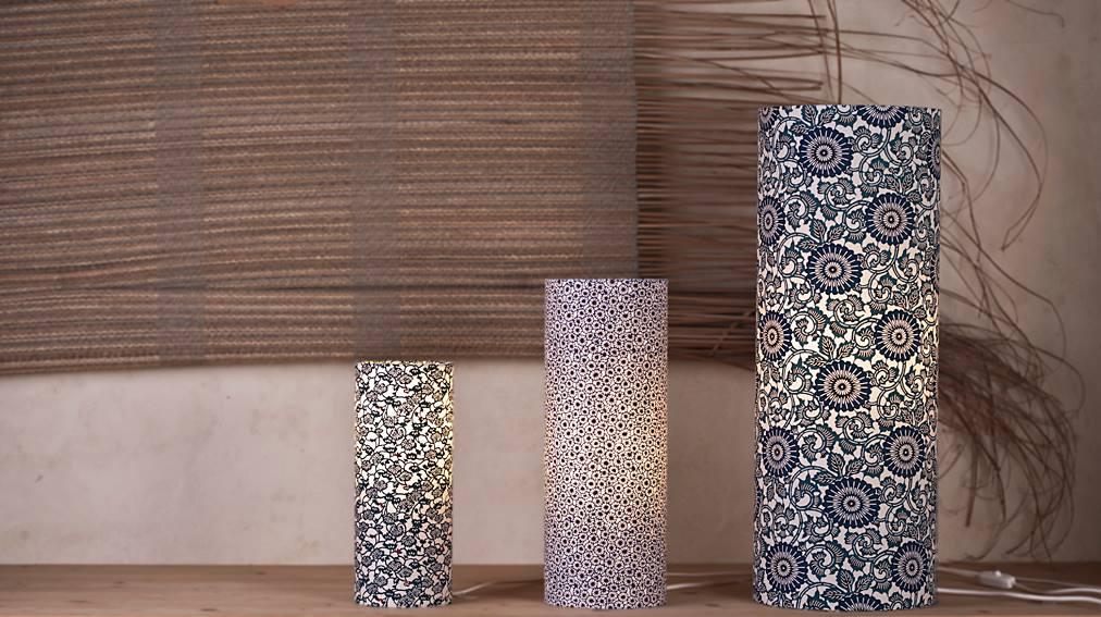lampe fleurie s agn s clairand. Black Bedroom Furniture Sets. Home Design Ideas