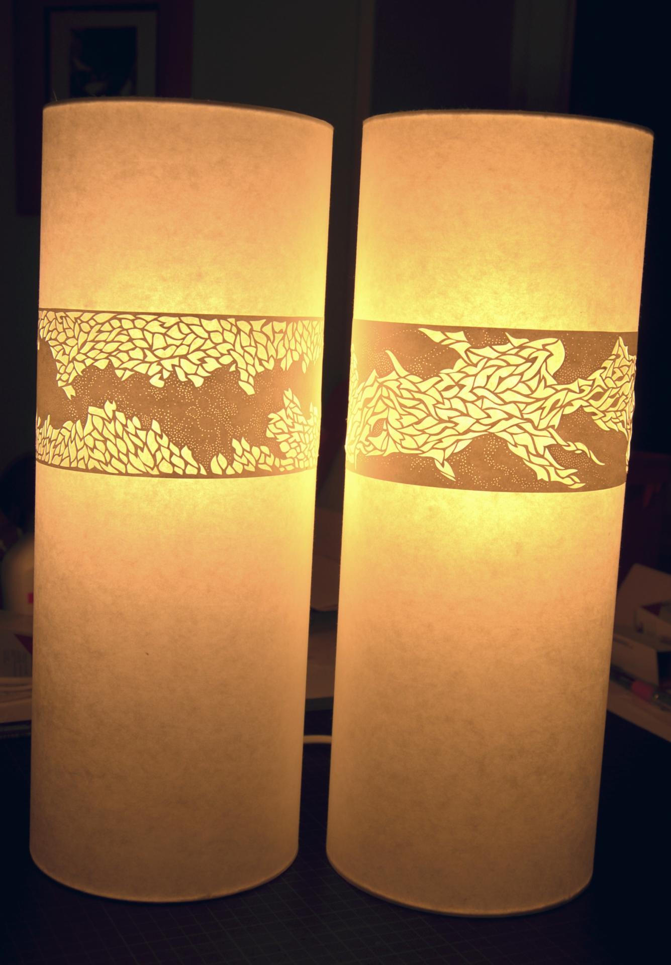 Des lampes uniques rien que pour vous agn s clairand - Lampe en papier ...