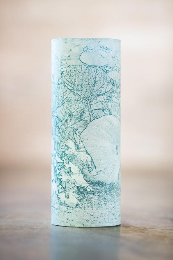 Lampe d'artiste en papier japonais