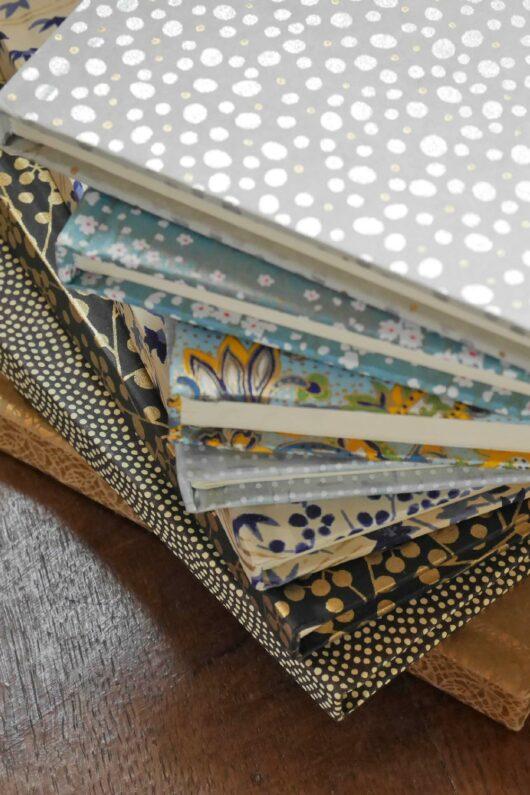 Papeterie fantaisie en papier japonais