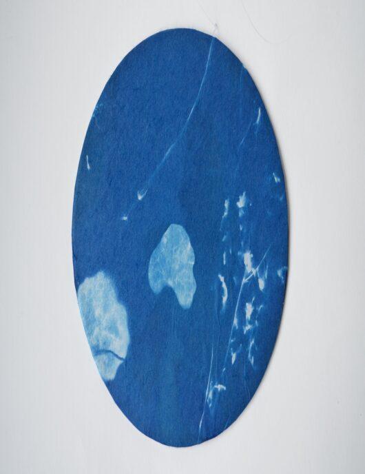 Attrape rêve en cyanotype 1