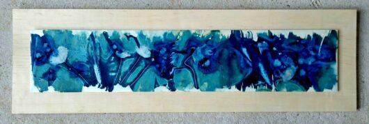 cyanotype aux coquelicots Agnes Clairand