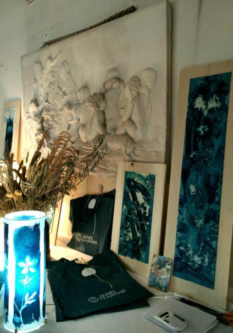 Cyanotypes anges